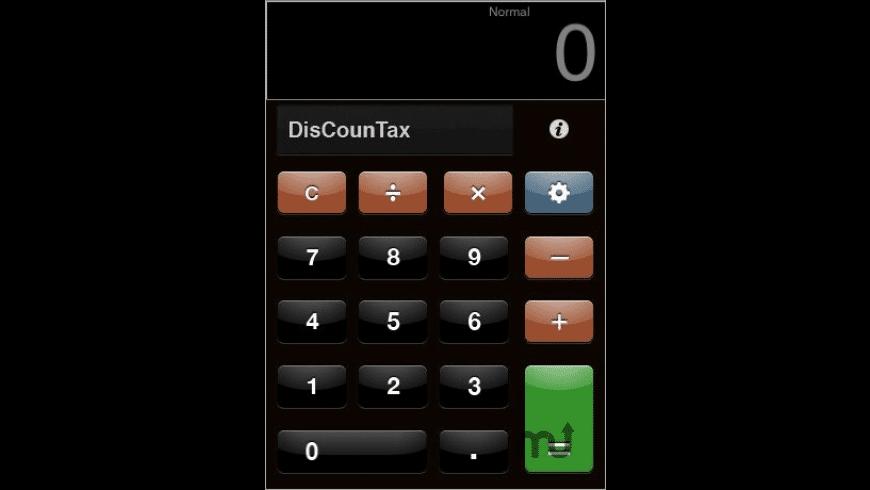 DiscounTax for Mac - review, screenshots