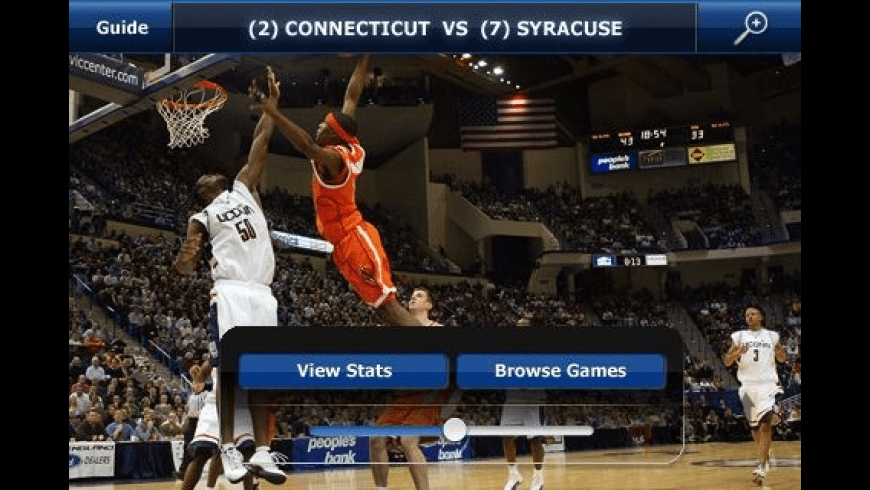 CBS Sports NCAA March Madness On Demand for Mac - review, screenshots