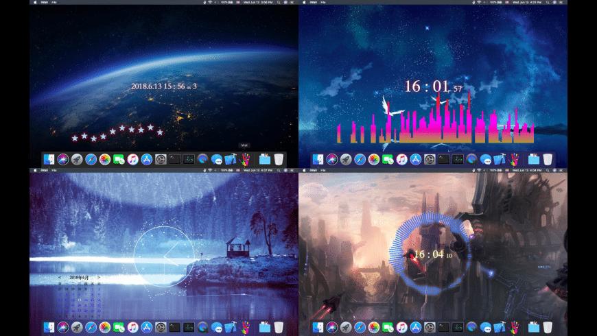 iWall-Dynamic Desktop Engine for Mac - review, screenshots