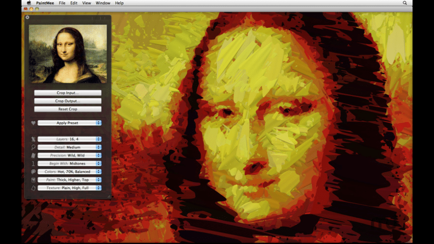 PaintMee for Mac - review, screenshots