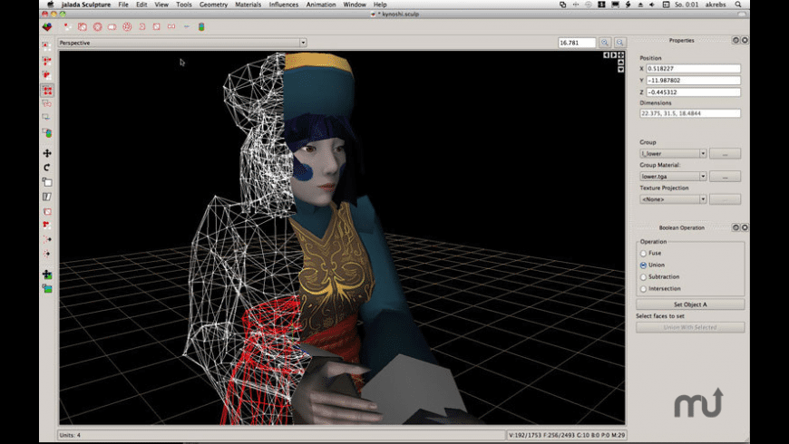 jalada Sculpture for Mac - review, screenshots