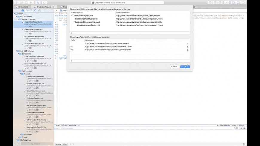XML Edita for Mac - review, screenshots