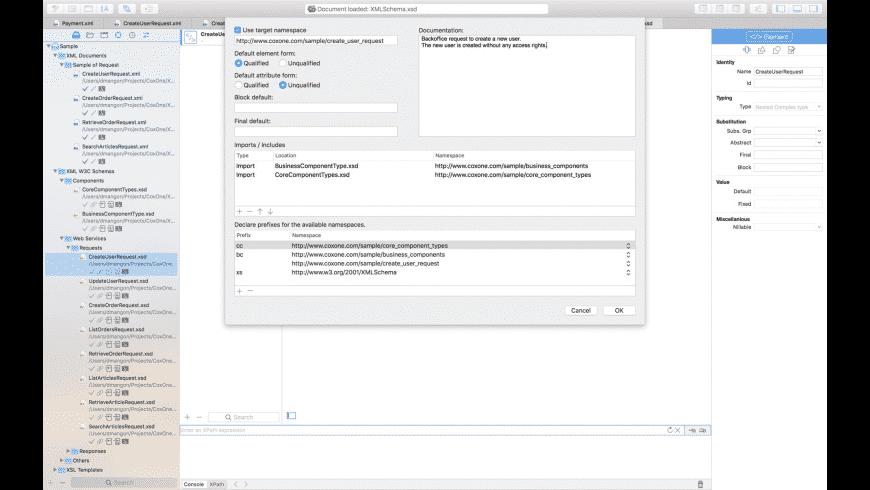 XML Edita for Mac - review, screenshots