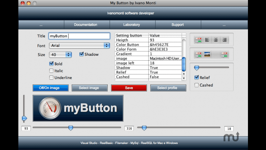 myButton for Mac - review, screenshots