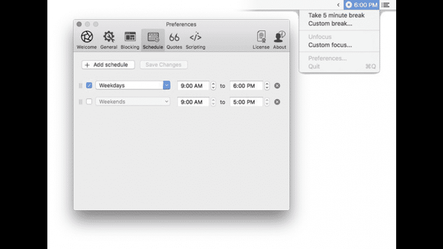 Focus for Mac - review, screenshots