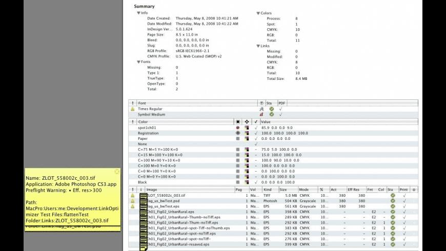 InPreflight Studio for Mac - review, screenshots