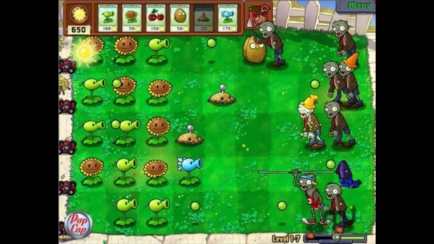 Plants vs Zombies for Mac - review, screenshots