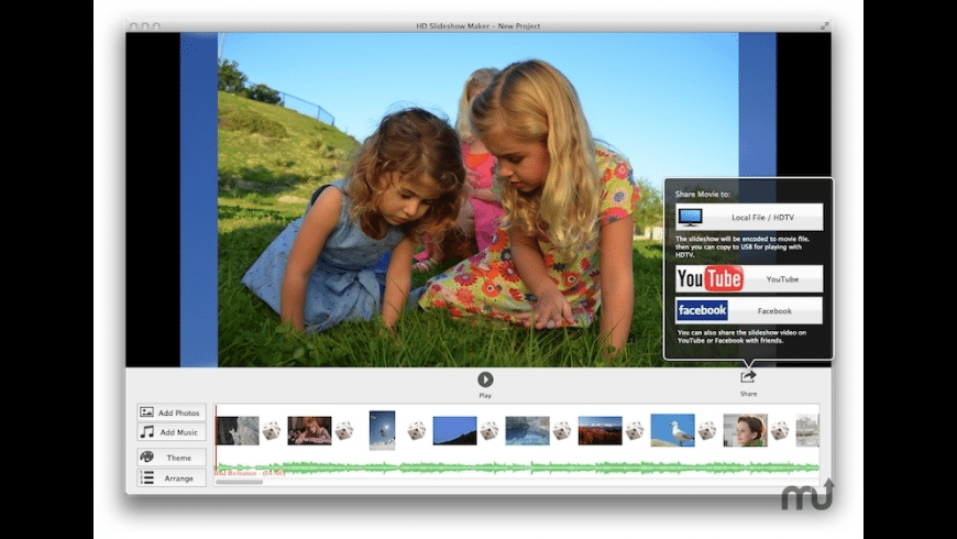 HD Slideshow Maker for Mac - review, screenshots