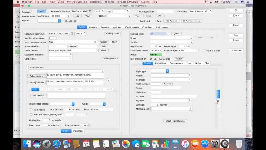 Dispatch for Mac - review, screenshots