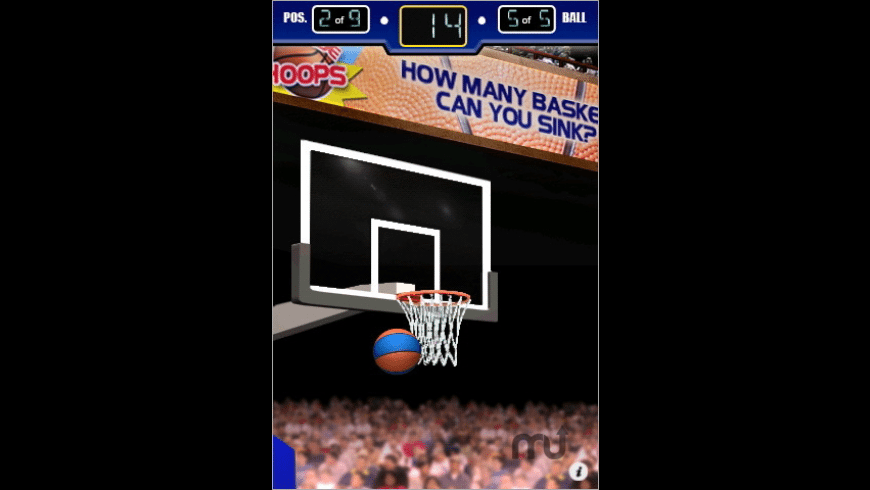 3 Point Hoops Basketball for Mac - review, screenshots