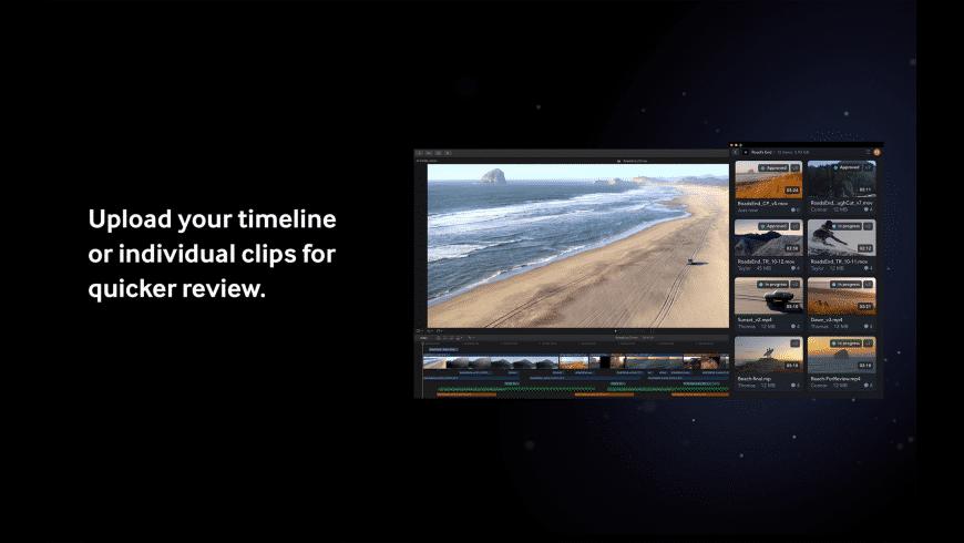 Frame.io for Mac - review, screenshots