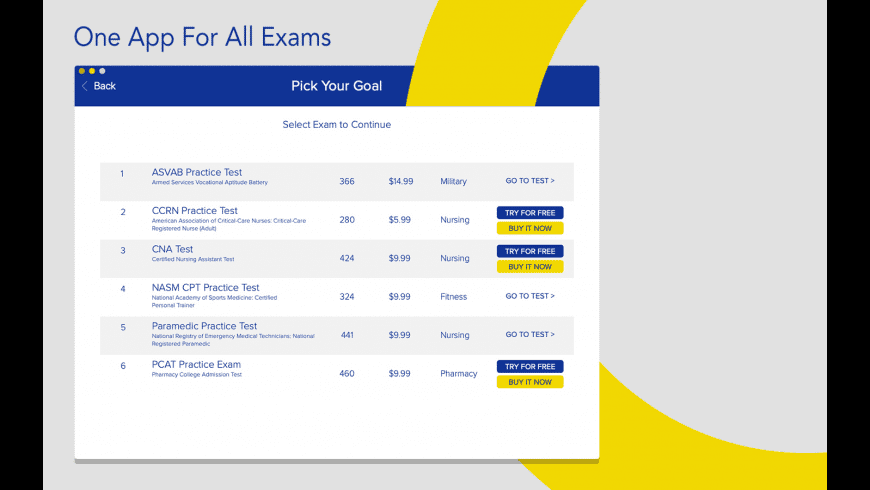 Better Exam Prep for Mac - review, screenshots
