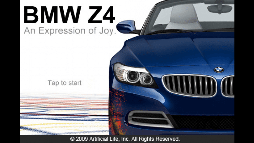 BMW Z4 — An Expression of Joy — Lite for Mac - review, screenshots