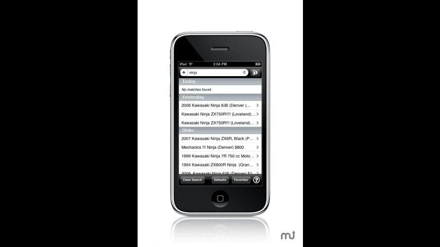 CraigsHarvest for Mac - review, screenshots