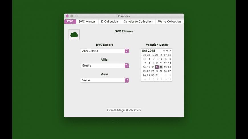 DVC Executive for Mac - review, screenshots