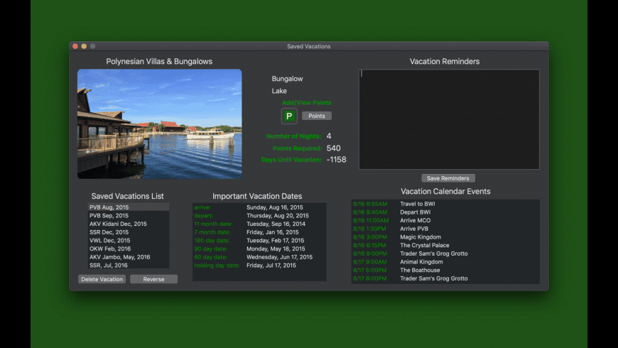 DVC Executive for Mac - review, screenshots