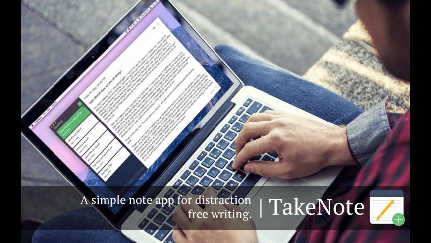 TakeNote for Mac - review, screenshots