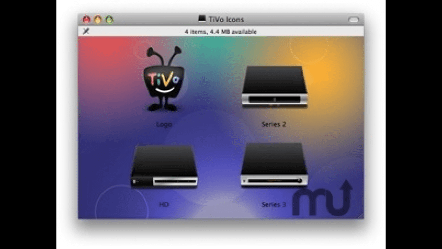 TiVo Icons for Mac - review, screenshots