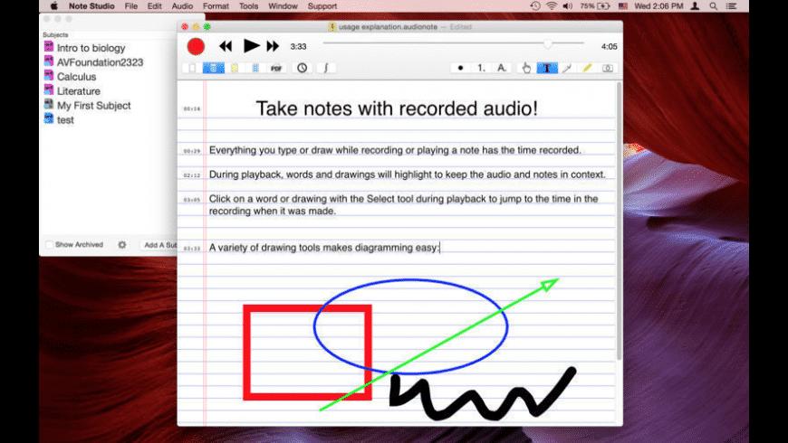 Note Studio for Mac - review, screenshots