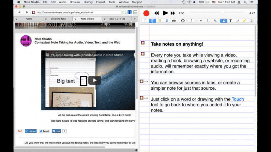 Note Studio for Mac - review, screenshots
