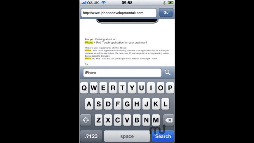 SearchHTTP for Mac - review, screenshots