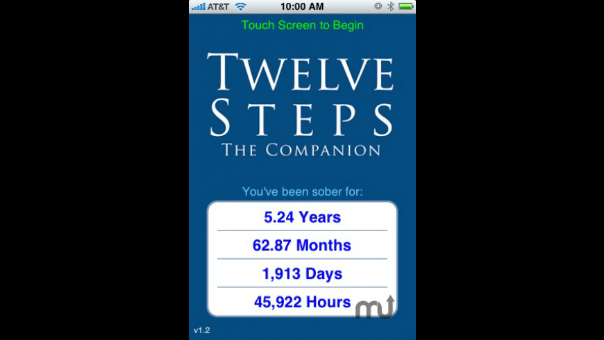 Twelve Steps Companion for Mac - review, screenshots