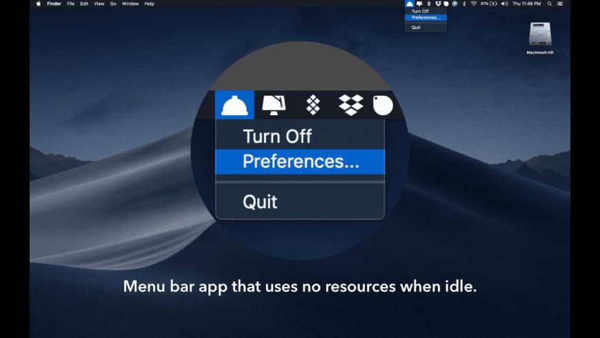 Buffet for Mac - review, screenshots