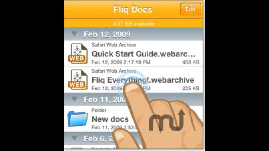 Fliq Docs for Mac - review, screenshots