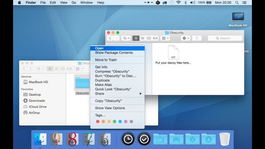 Obscurity for Mac - review, screenshots