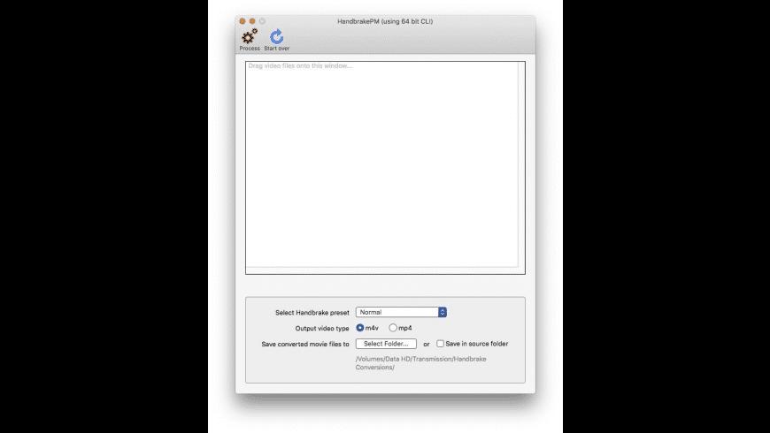 HandbrakePM for Mac - review, screenshots