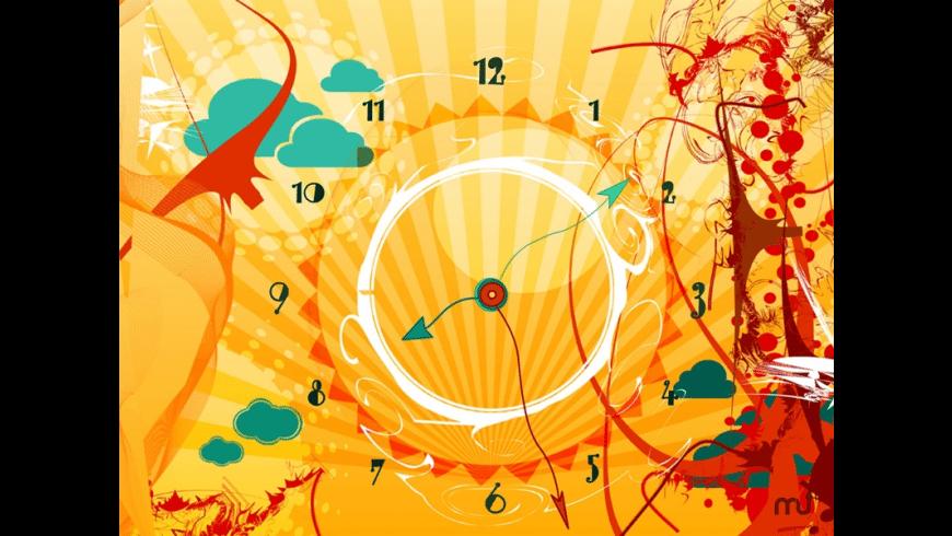 7art AlienSun Clock for Mac - review, screenshots