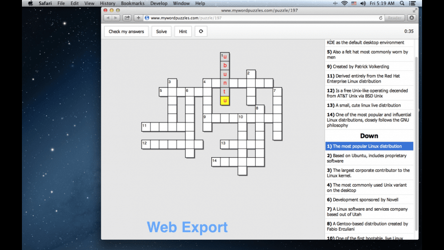 Puzzle Maker for Mac - review, screenshots