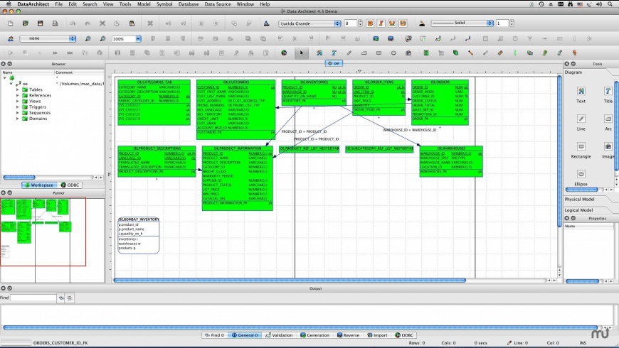 DataArchitect for Mac - review, screenshots