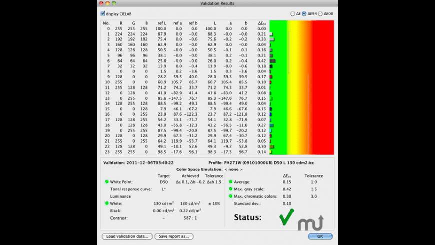 basICColor display for Mac - review, screenshots