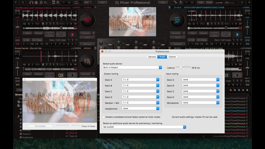 DJMixerPro for Mac - review, screenshots
