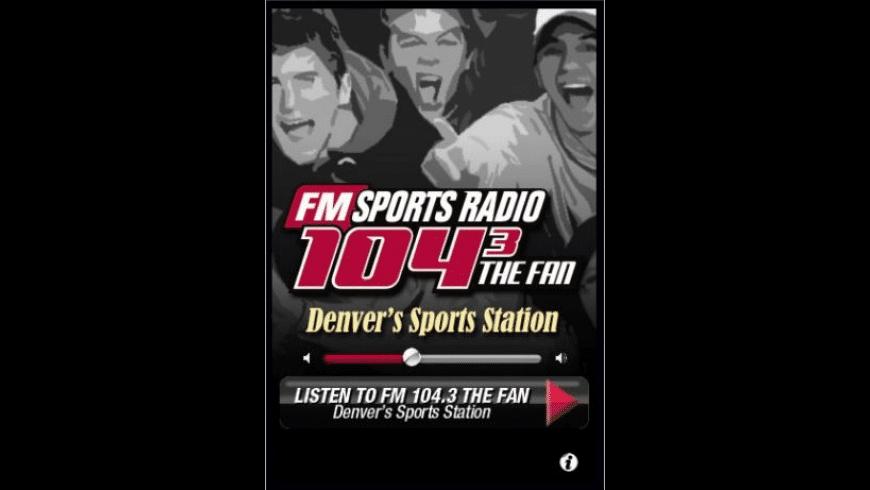 Sportsradio FM104.3 The Fan for Mac - review, screenshots