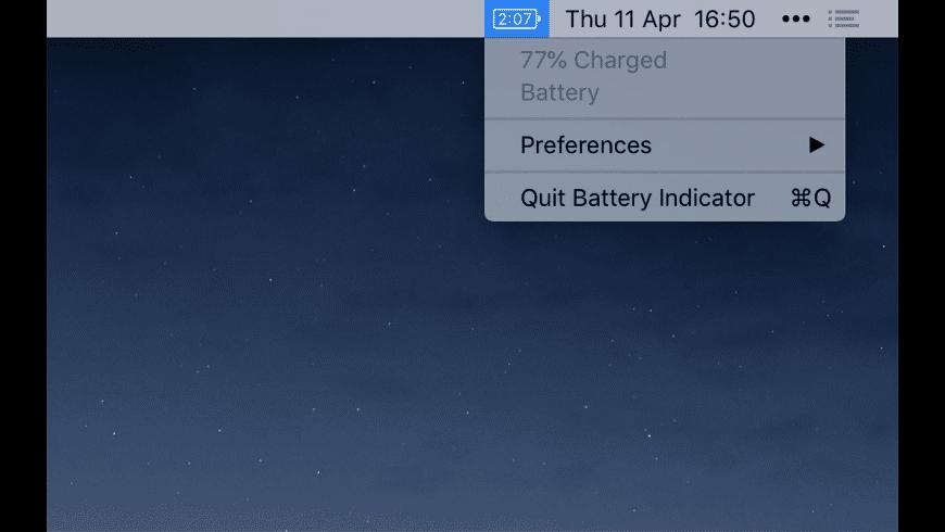 Battery Indicator for Mac - review, screenshots
