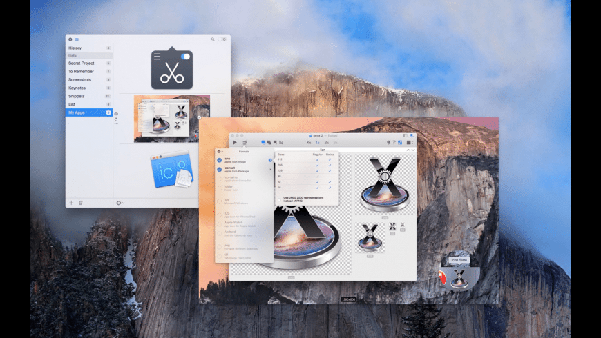Clipboard Center for Mac - review, screenshots