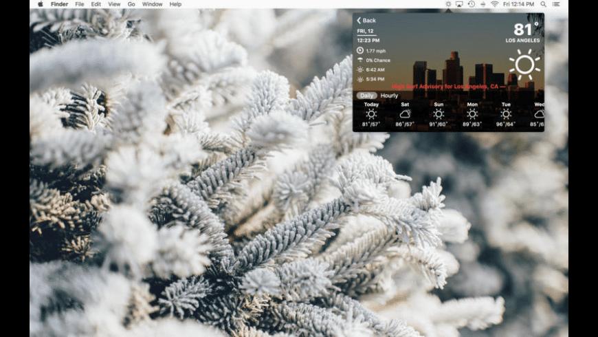 Forecast for Mac - review, screenshots