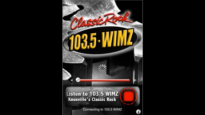 103.5 WIMZ Knoxville's Classic Rock for Mac - review, screenshots