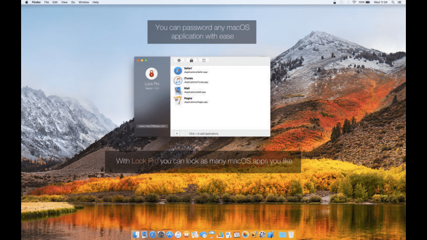 Lock for Mac - review, screenshots