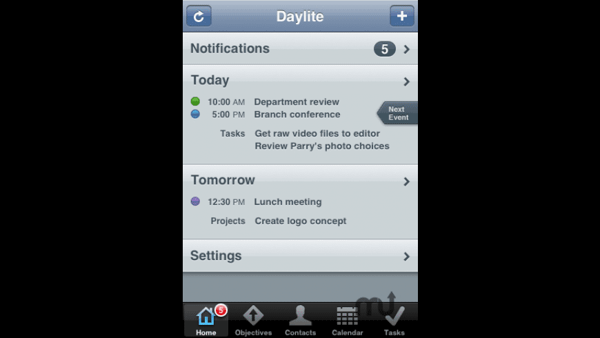 Daylite Touch for Mac - review, screenshots