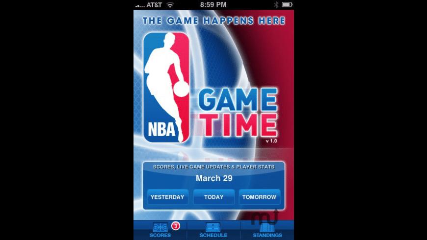 NBA Game Time for Mac - review, screenshots