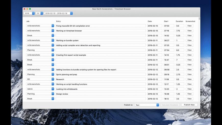 nnScreenshots for Mac - review, screenshots