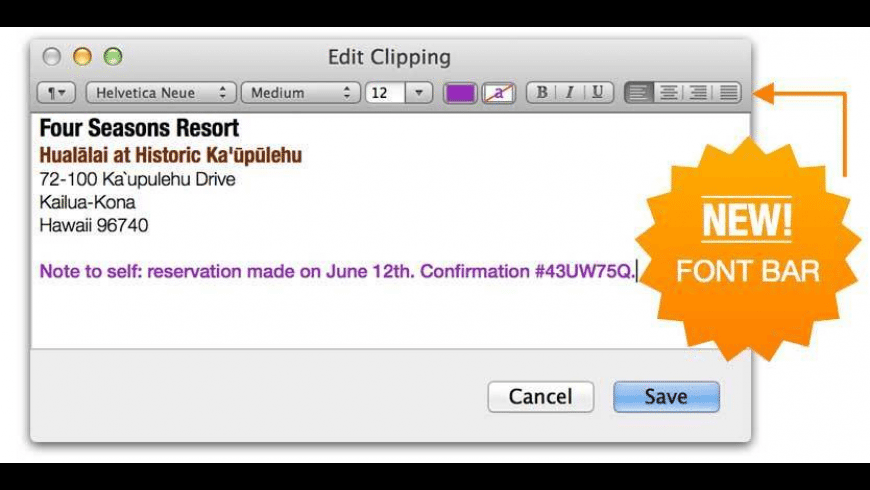 iClipboard for Mac - review, screenshots