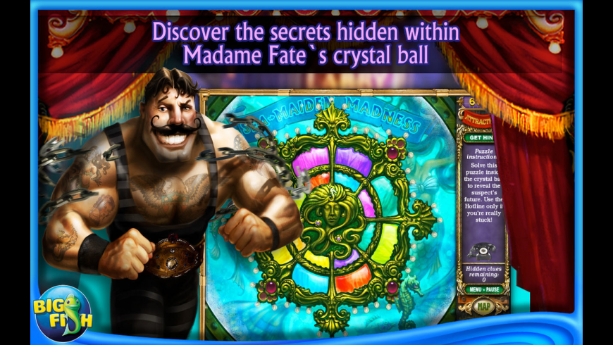 Mystery Case Files: Madame Fate for Mac - review, screenshots