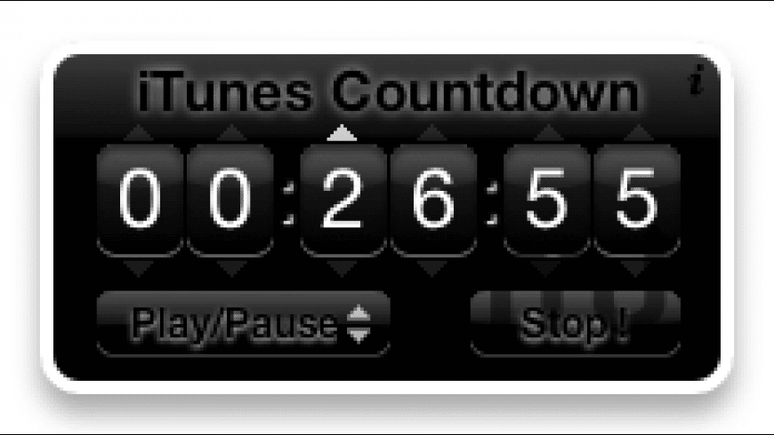 iTunes Countdown for Mac - review, screenshots