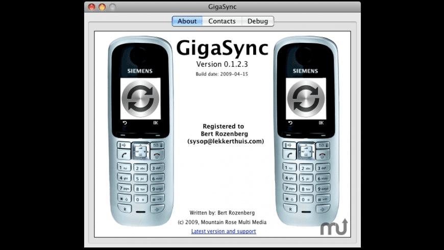 GigaSync for Mac - review, screenshots
