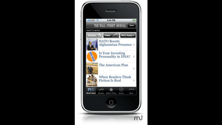 WSJ - The Wall Street Journal for Mac - review, screenshots
