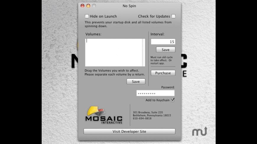 No Spin for Mac - review, screenshots